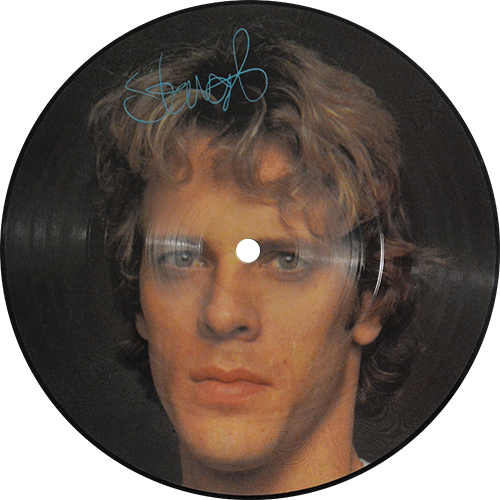 The Police Wrapped Around Your Finger Colored Vinyl