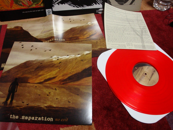 The Separation No Exit Colored Vinyl