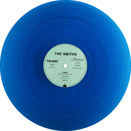 The Smiths Panic Colored Vinyl