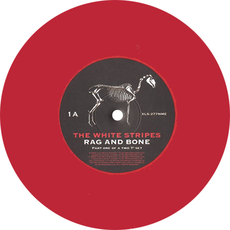 The White Stripes Rag And Bone Colored Vinyl