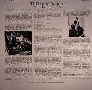 Thelonious Monk & John Coltrane - Thelonious Monk With John Coltrane