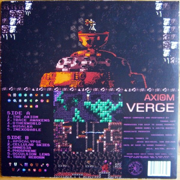 Thomas Happ Axiom Verge Colored Vinyl