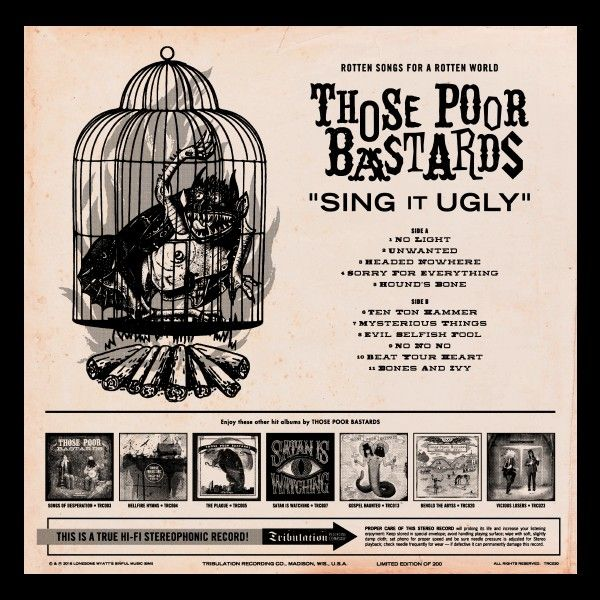 Those Poor Bastards -Sing It Ugly