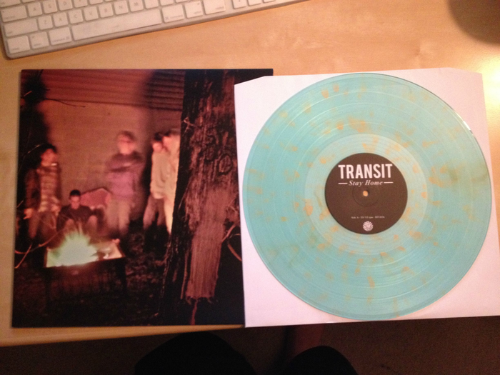 Transit Stay Home Colored Vinyl
