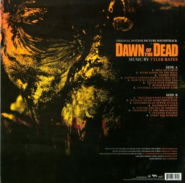 Tyler Bates -Dawn Of The Dead (Original Motion Picture Soundtrack)