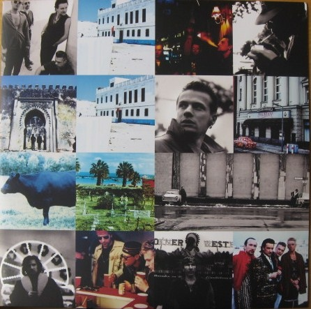 U2 Achtung Baby Colored Vinyl