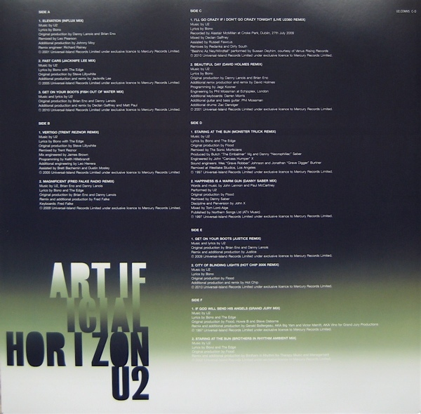U2 -Artificial Horizon