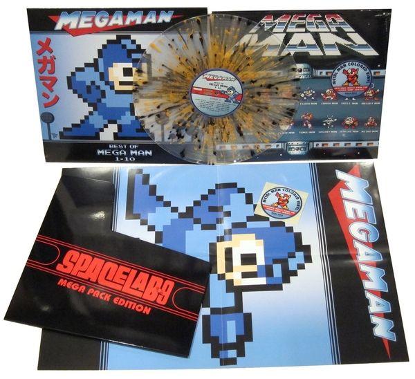 Various - Mega Man: The Best of Mega Man 1-10 (Mega Pack Edition / Metal Man Vinyl Variant)