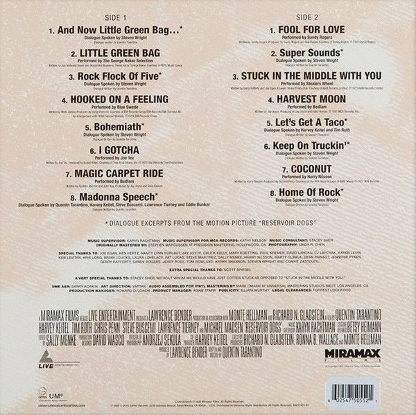 Various - Reservoir Dogs (Original Motion Picture Soundtrack)