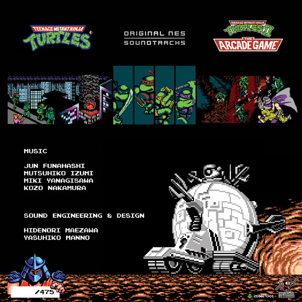 Various - Teenage Mutant Ninja Turtles & Teenage Mutant Ninja Turtles II : The Arcade Game