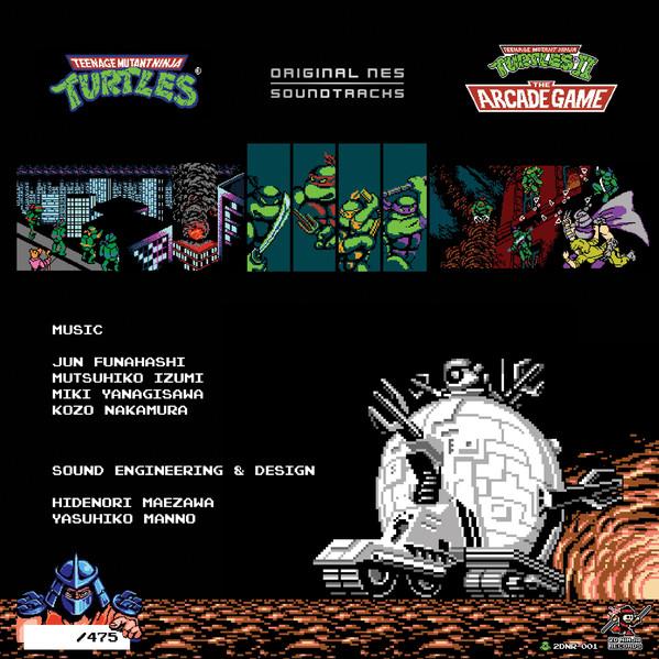 Various -Teenage Mutant Ninja Turtles & Teenage Mutant Ninja Turtles II : The Arcade Game
