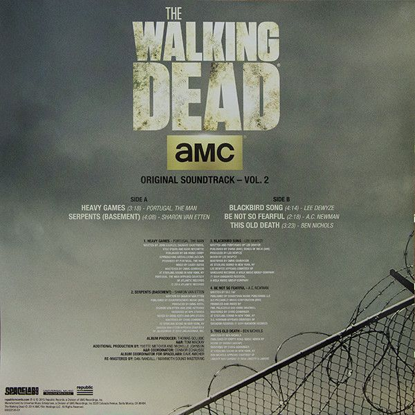 Various - The Walking Dead Original Soundtrack - Vol. 2