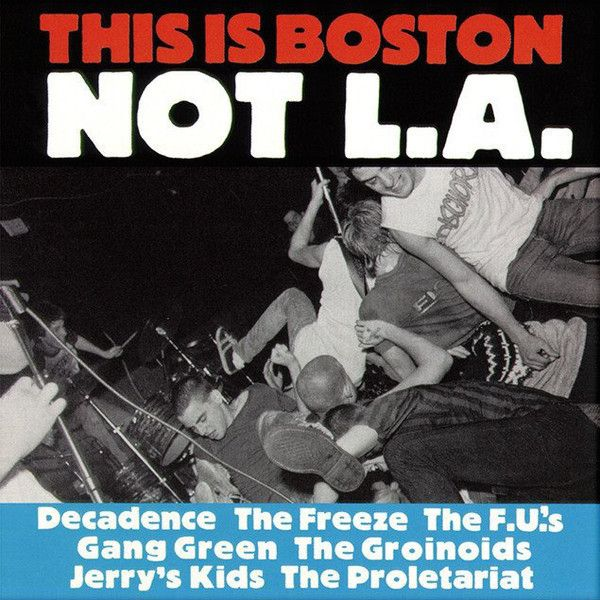 Various This Is Boston Not L A Colored Vinyl