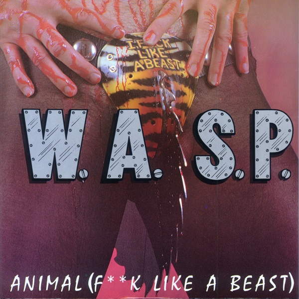 W A S P Animal F K Like A Beast Colored Vinyl
