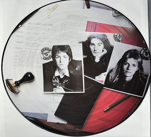 Wings Band On The Run Colored Vinyl
