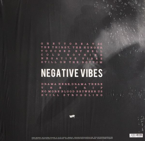 Words Of Concrete -Negative Vibes