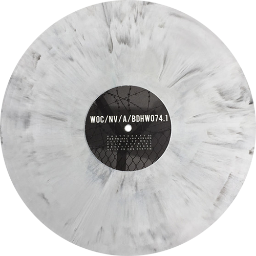 Words Of Concrete Negative Vibes Colored Vinyl