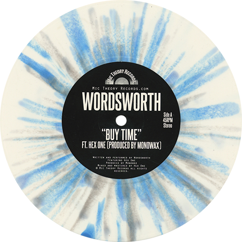 Wordsworth & Hex One - Buy Time / Soul On A Paper