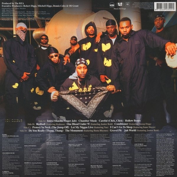 Wu Tang Clan The W Colored Vinyl