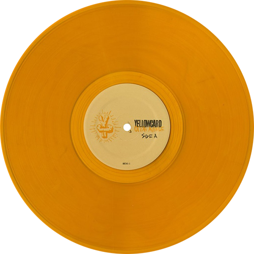 Yellowcard Ocean Avenue Colored Vinyl