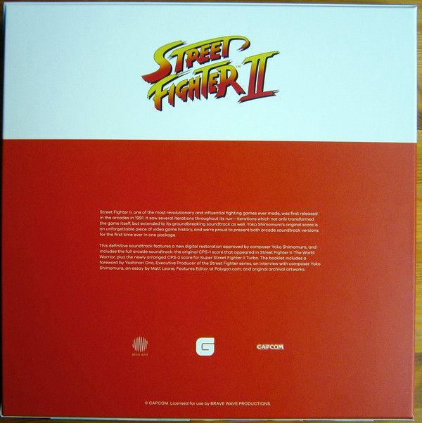 Yoko Shimomura & Isao Abe - Street Fighter II The Definitive Soundtrack