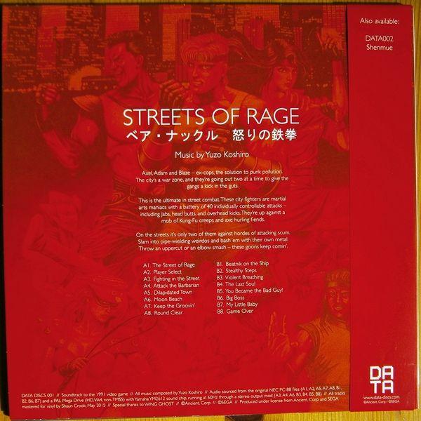 Yuzo Koshiro - Streets Of Rage