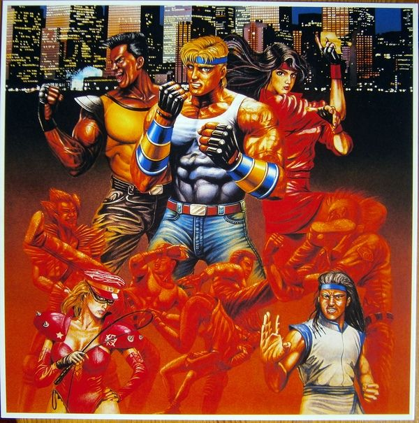 Yuzo Koshiro Streets Of Rage Colored Vinyl