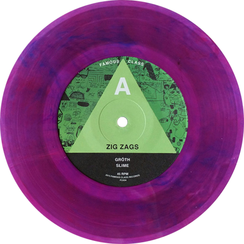 Zig Zags Slime Ep Colored Vinyl