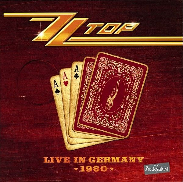 Zz Top Live In Germany 1980 Colored Vinyl