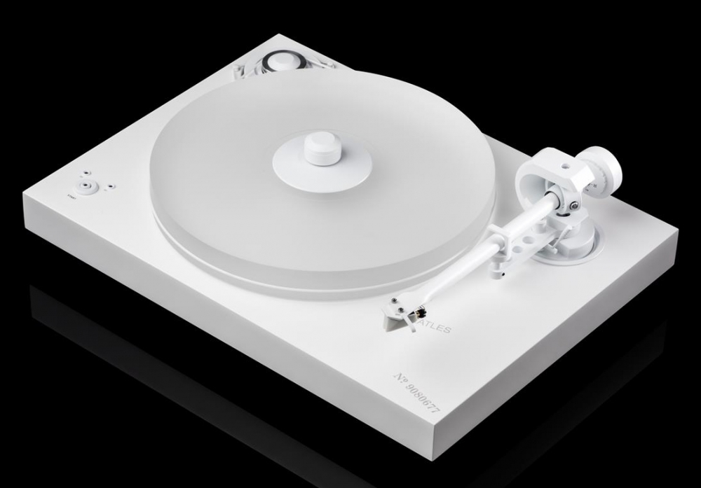 Pro-Ject releases The Beatles White Album special edition turntable