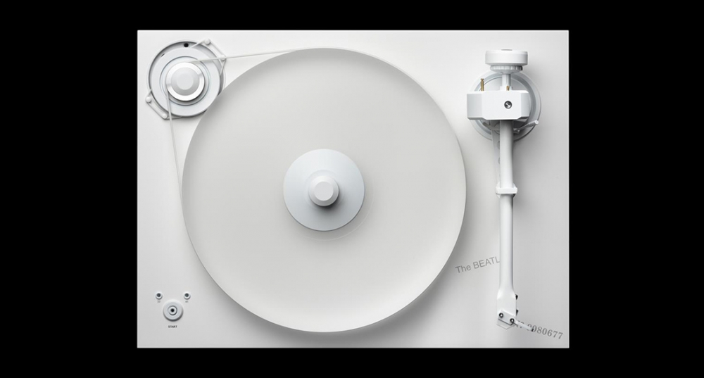 Pro-Ject releases The Beatles White Album special edition turntable cover