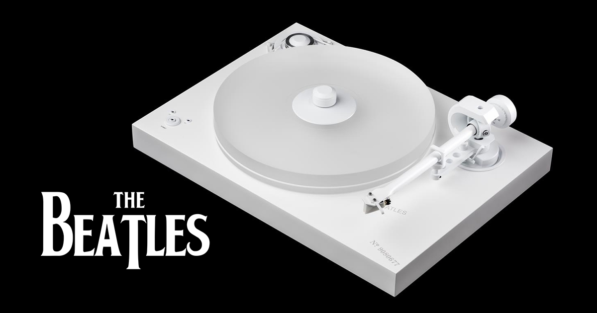 Pro Ject Releases The Beatles White Album Special Edition