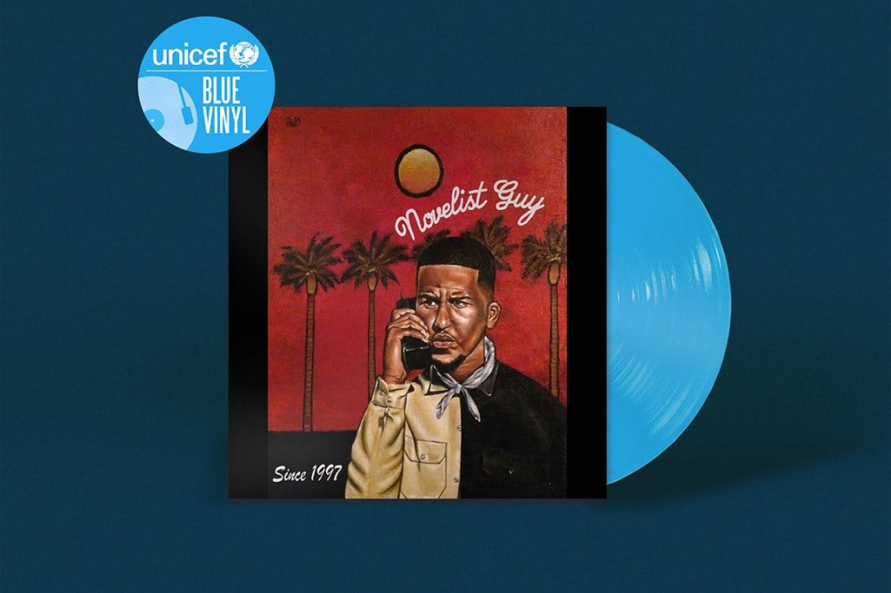 17 albums reissued on limited edition blue vinyl in aid of UNICEF