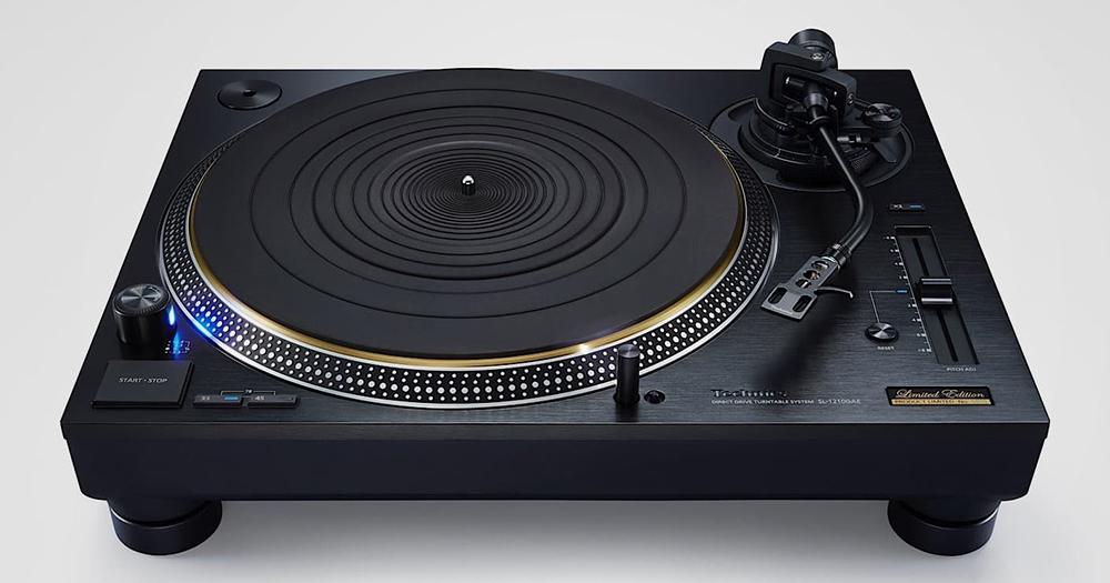 Technics releases 55th anniversary edition SL-1210GAE turntable cover
