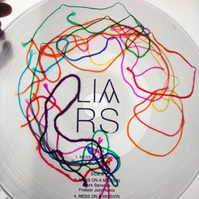 String-embedded clear vinyl image gallery