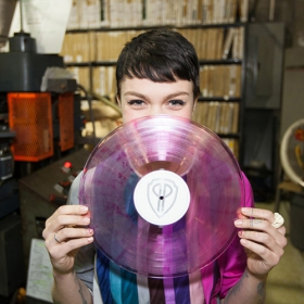 Blood pressed vinyl image gallery