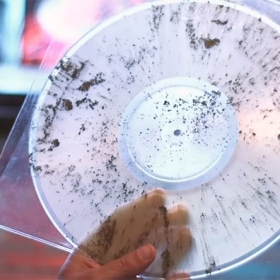 Records made from cremation ashes image gallery