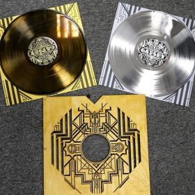 Platinum and gold coated vinyl image gallery