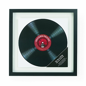 Record display frame image gallery