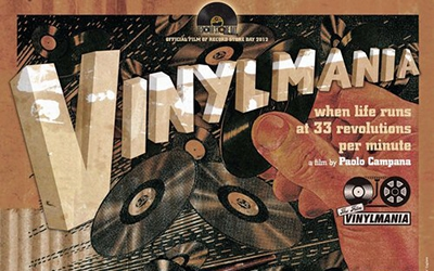 Vinylmania: When Life Runs at 33 Revolutions Per Minute (2012, 75 min)
