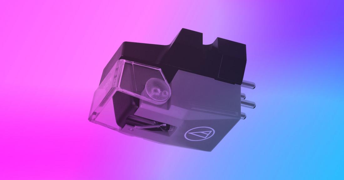 Diamond Stylus! Silver Headshell w// Stereo Moving Magnet Cartridge M7SP