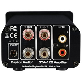 Dayton Audio DTA-120 image gallery