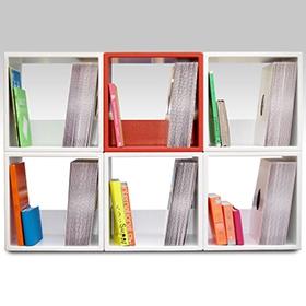 I-CUBE Vinyl Storage Cubes image gallery