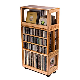 Mapleshade Record Shelf Systems image gallery
