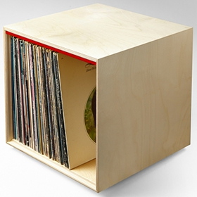 Simple Wood Goods   Record Storage Cube Image Gallery ...