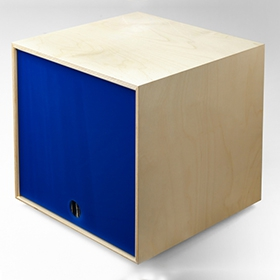 Simple Wood Goods - Record Storage Cube image gallery