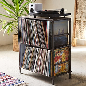 Urban Outfitters - Vinyl Storage Shelf image gallery