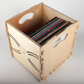 Wax Stacks LP Record Crates image gallery