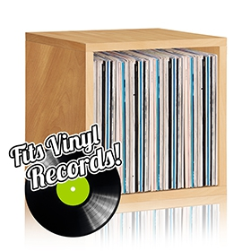 Way​ ​Basics ​Vinyl Record Album Storage​ Cubes​ image gallery