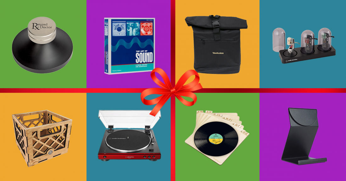 Best Christmas Gifts for Vinyl Lovers & Record Collectors in 2019 cover